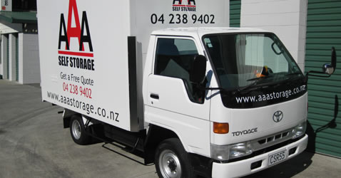 AAA Wellington City storage facility